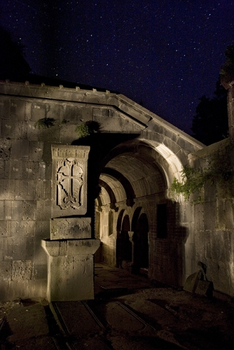 Link to Night Armenian Monuments
