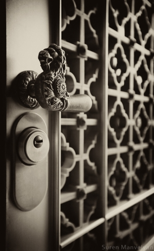 Armenian vintage door photo