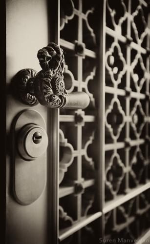 Armenian vintage door photo