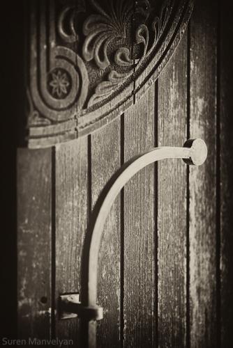 Armenian vintage gate