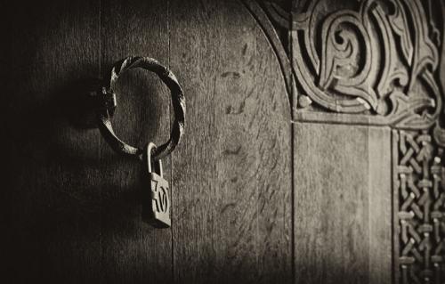 Old Armenian Door lock
