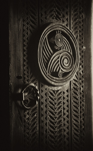 Old Armenian Decorative Door
