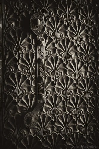Old Armenian Art Deco door