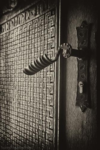 Old Armenian Art Door Picture