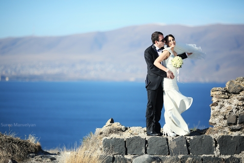 At Sevan lake