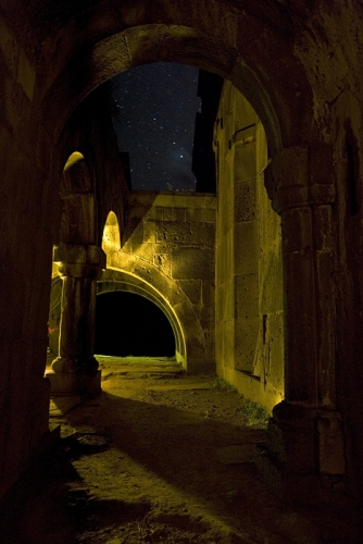 Night at monastery