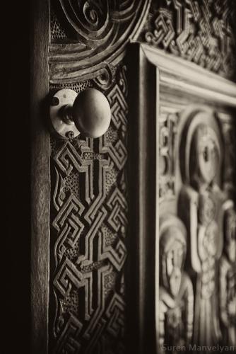 Armenian church door