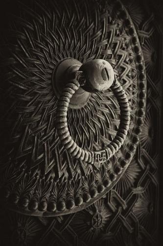 Old Armenian door-handle