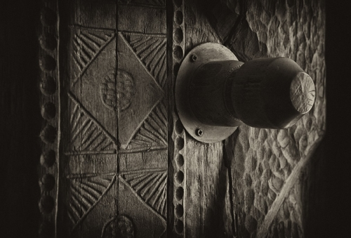 Door handle photo