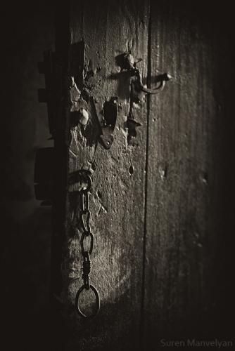 Old gate door handle