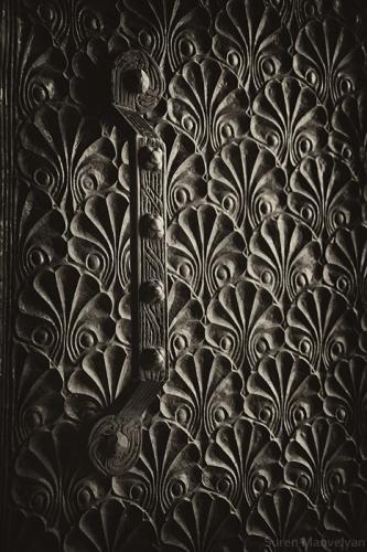Old Armenian Art Deco door