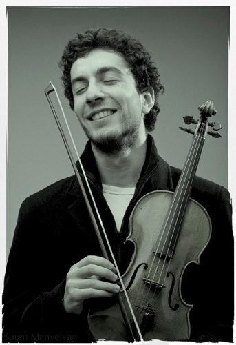 Sergey Khachatryan and his Stradivarius (1702)