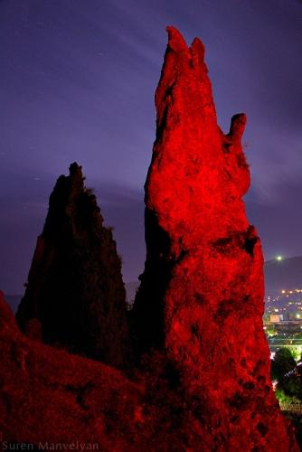Nightscapes of Goris